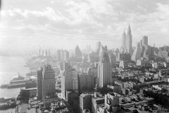 View from 27th floor, New York City, 1931