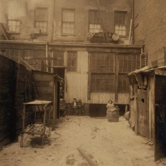 Tenement, Thompson Street, New York City